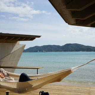 奄美大島 ハンモック 伝泊 The Beachfront MIJORA amami hammock